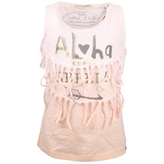 Scotch R'belle SS Top Fringes Pink