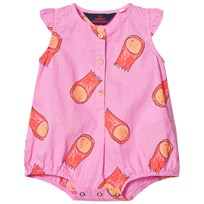 The Animals Observatory Butterfly Romper Fuchsia Halleys FUCHSIA HALLEYS