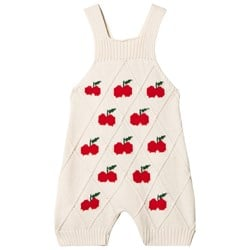 The Animals Observatory Porcupine Romper Red Apple