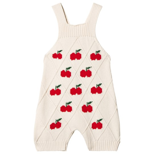 The Animals Observatory Porcupine Romper Red Apple Red Apple