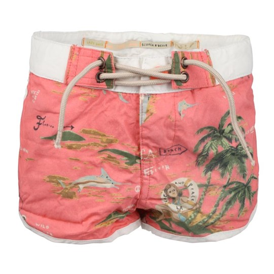 Scotch R'belle SS Swimshorts In Bag Pink