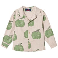 The Animals Observatory Scorpion Kids Shirt Beige Apples BEIGE APPLES
