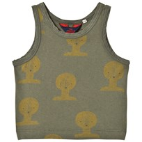 The Animals Observatory Frog Tank Top Military Green Tao Busts MILITARY GREEN TAO BUSTS