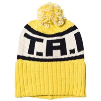 The Animals Observatory Squirrel Beanie Yellow Yellow