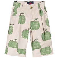 The Animals Observatory Elephant Pants Beige Apples BEIGE APPLES