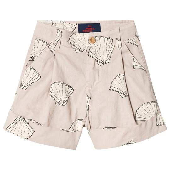 The Animals Observatory Monkey Bermudas Shorts Beige Shells BEIGE SHELLS