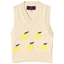 The Animals Observatory Chick Vest Yellow Yellow