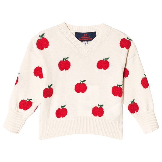 7fe9ab06f5f The Animals Observatory - Toucan Babies Sweater Red Apple - Babyshop.com