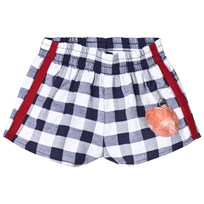 The Animals Observatory Spider Shorts Navy Blue Peach NAVY BLUE PEACH