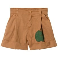 The Animals Observatory Monkey Bermudas Shorts Brown Apple BROWN APPLE