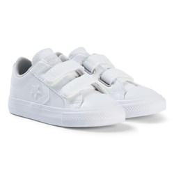 Converse White Star Player EV 2V OX Infant Sneakers