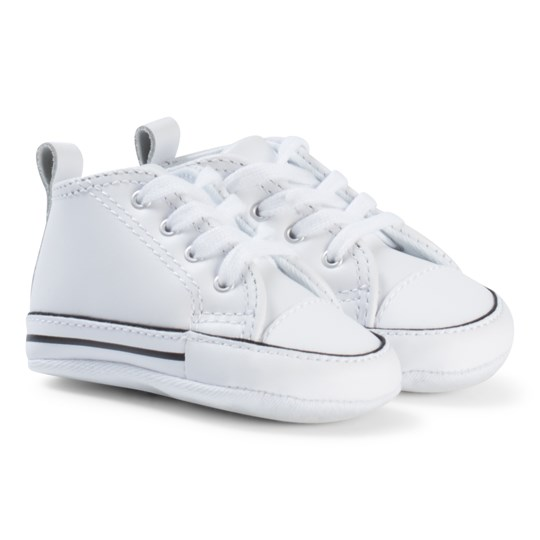 Converse White Chuck Taylor All Star First Crib Shoes BLACK/WHITE/BLACK