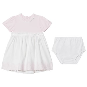Image of Emile et Rose Marcela Pink and White Summer Dress 12 months (2928429819)