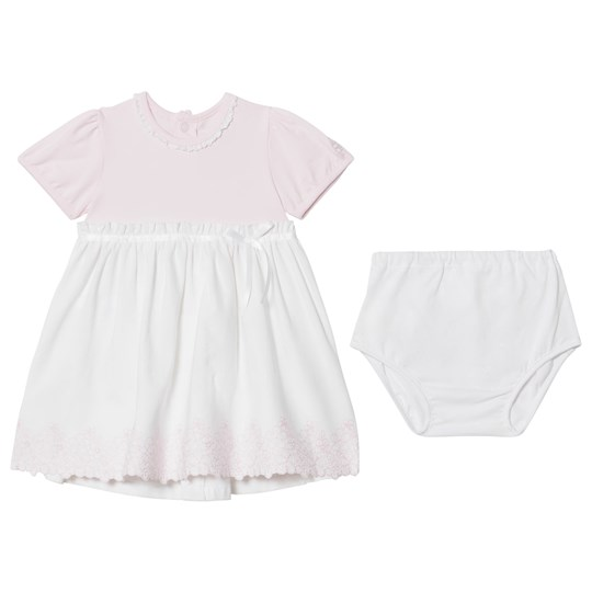 Emile et Rose Marcela Pink and White Summer Dress Pink
