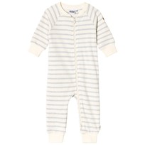 eBBe Kids Gard sweat bodysuit Blue fog stripe Blue fog stripe