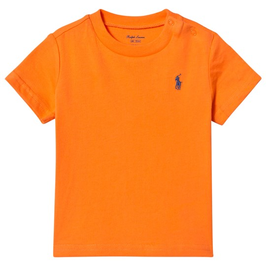 Ralph Lauren Orange Classic Tee with PP 003