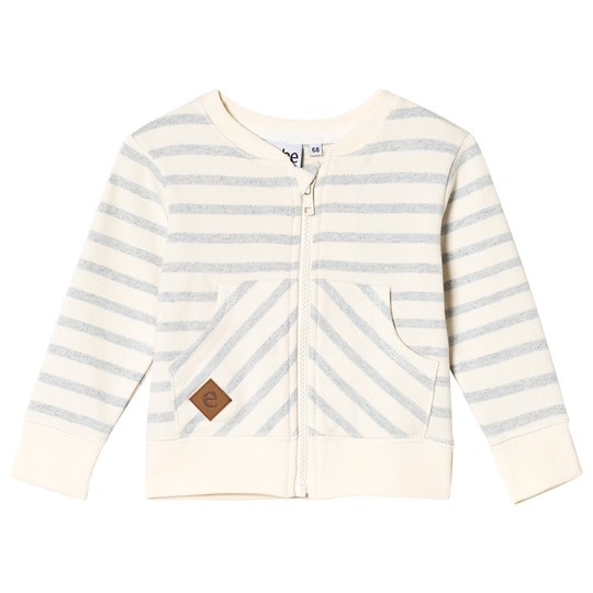 ebbe Kids Grant Sweat Jacket Blue Fog Stripe Blue fog stripe