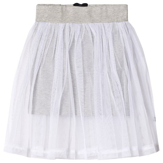 The BRAND Tulle Skirt White/Grey Mel Grey Mel