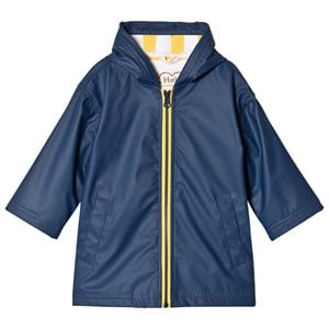 Image of Hatley Navy and Yellow Splash Jacket 8 years (993986)