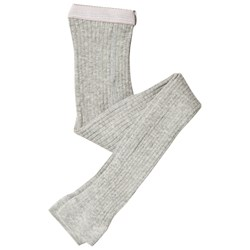 Melton Rib Leggings Light Grey Melange