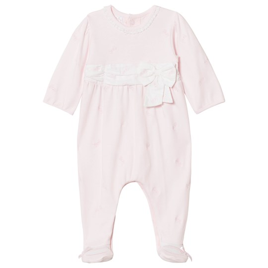 Emile et Rose Macy Bow Footed Baby Body Pink Pink