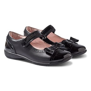Image of Lelli Kelly Gabriella Black Patent and Leather Mary Janes 33 (UK 1) (509946)