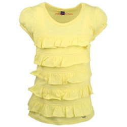 Mexx Kids Girls T-shirt Yellow Ruff