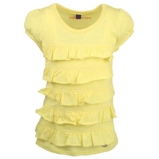 Mexx Kids Girls T-shirt Yellow Ruff Yellow