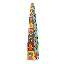 Djeco Vehicle Stacking Blocks Blue
