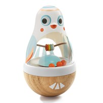 Djeco Baby White Poli Activity Toy White