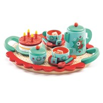 Djeco Fox's Party Tea Set Green