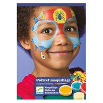 Djeco Superhero Face Paint Kit Blue