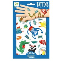 Djeco Snouts Tattoos Blue