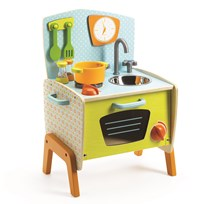 Djeco Gaby's Cooker Play Kitchen Yellow