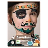 Djeco Pirate Face Paint Kit Black