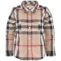 Burberry Check Cotton Shirt New Classic Check
