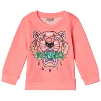 Kenzo Coral Embroidered Tiger Sweatshirt 323