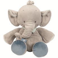 Nattou Soft Toy Jack Elefant Large Black