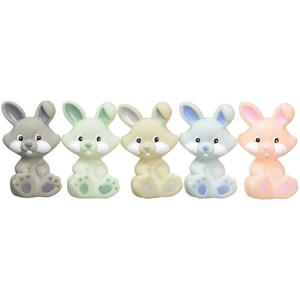 Image of rattstart Bunnies Bath Toys, 5 Pack 0 - 5 years (3056057733)