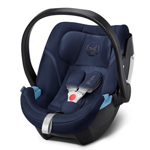 Image of Cybex Aton 5 Infant Carrier Denim Blue 2018 (3065507461)