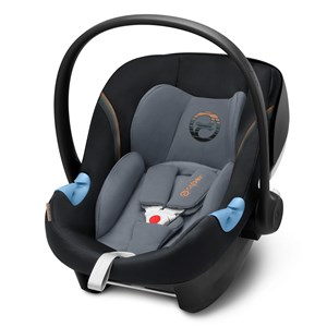 Image of Cybex Aton M i-Size Infant Carrier Pepper Black 2018 (3065507467)
