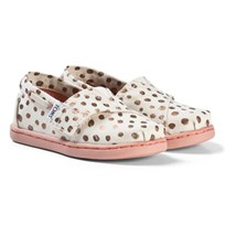 Toms Rose Gold Dots Tiny TOMS Classics ROSE GOLD DOT