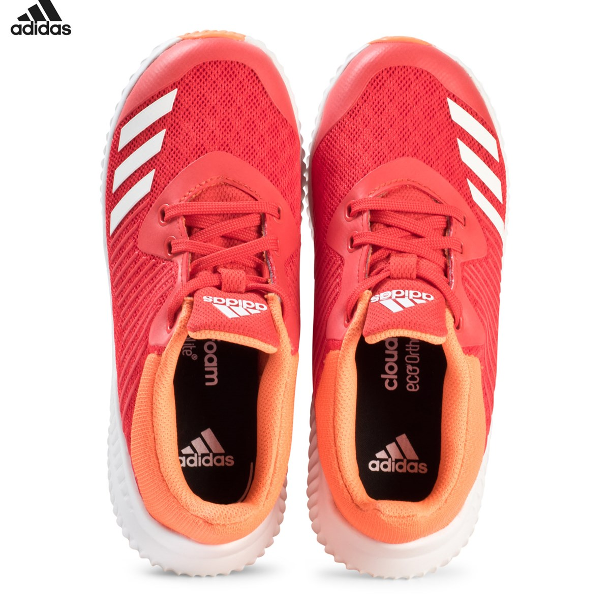 adidas Performance Red and Orange FortaRun Trainers