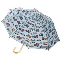 Hatley Rush Hour Umbrella Blue Blue