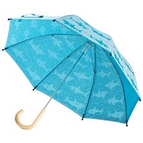 Hatley Shark Alley Umbrella Blue Blue