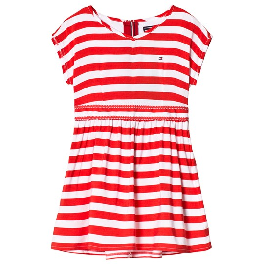 Tommy Hilfiger Red Stripe Ame Delightful Tee Dress 610