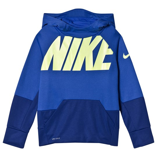 NIKE Blue and Navy Nike Therma GFX Hoodie 405