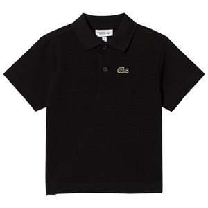 Image of Lacoste Black Classic Tennis Shirt 14 years (2931855865)