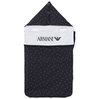 Armani Junior Navy Logo Jersey Nest 15K5
