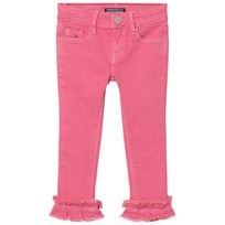 Tommy Hilfiger Nora Ruffle Hem Jeans Rosa 601